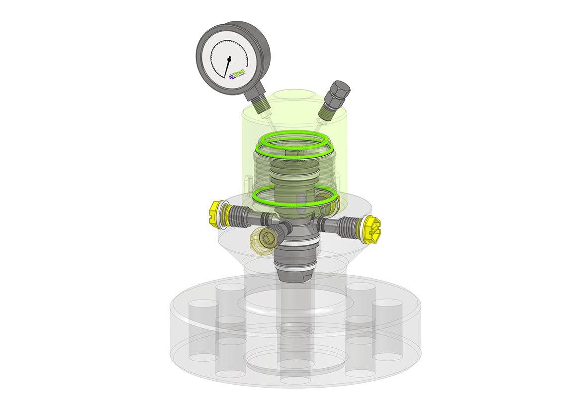 Janus™ Tri-Seal High Pressure Axess System